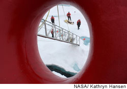 Measuring Arctic sea ice loss